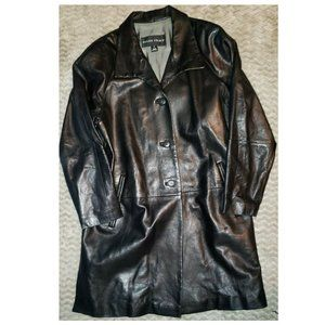 Ellen Tracy Genuine Leather Jacket Size Small
